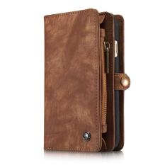 Sale Caseme Business Style Luxury Brand Leather Cover Flip Wallet Fundas Case For Apple Iphone7 Plus Intl China Cheap