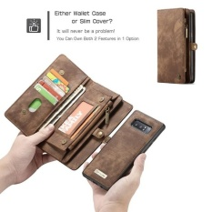 Review Caseme Leather Case For Samsung Note 8 Flip Case Card Slot Wallet Cover Magnet Business Phone Case For Samsung Galaxy Note 8 Note8 Intl China