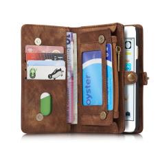 Best Deal Caseme Retro Split Leather Multi Slot Wallet Case For Iphone 6S 6 Coffee