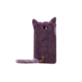 Who Sells Cat Ears Design Soft Tpu Phone Back Case Cover For Samsung Galaxy Note 2 N7100 Purple Intl Cheap