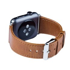 Top Rated Catwalk Apple Watch Band 38 42 Mm Genuine Heritage Leather Strap Intl