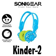 Price Child Safe Stereo Headphones Sonicgear Kinder 2 Sonic Gear Online