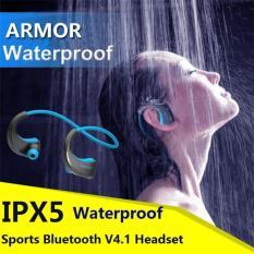 China Brand Headphone Dacom Armor G06 Bluetooth V4 1 Wireless Earphone Ipx5 Waterproof Sports Headset Anti Sweat Ear Hook Running Headphone With Mic Intl Promo Code