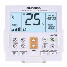 Compare Chunghop K 650E Universal Lcd Air Conditioner Remote Controller With Bracket Intl Prices