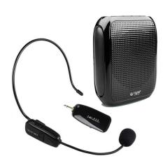 Best Reviews Of Chunzao T600 2 4G Wireless Headset Microphone And Pa Voice Amplifier Loud Soun Speaker Completely Hands Free For Special Teaching Speech Loudspeaker Black Intl