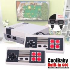 Classic Tv Video Game Console 2 Gamepad Built In 600 Game For Nes Mini Hdmi Hd Eu Intl Reviews