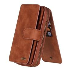 Retail Classic Wallet Series Magnetic Closure Handbag 360 Degree Full Body Protective Case Flip Cover Protective Leather Phone Case Wallet Cover Uilt In Wallet Case 8Card Holder 3 Cash Slot With Stand For Sam Sung Galaxy S5 Intl