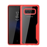Sale Clear Armor Hybrid Tpu Pc Shockproof Case Transparent Back Cover For Samsung Galaxy Note 8 Note8 Intl