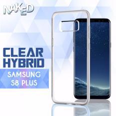 Clear Hybrid Samsung Galaxy S8 Plus Case Clear [Soft Bumper+Hard Back]