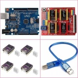 Best Deal Cnc Shield Uno R3 Board 4 X Drv8825 Driver Kit For Arduino 3D Printer Intl