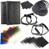 Deals For Cokin P Filter Set Of 12 Graduated Color Nd Kit Adapter Lens Hood Lf142 Sz Black