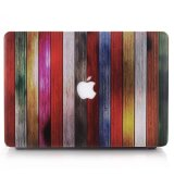 Sale Colorful Wood Strips Laptop Case Hard Shell For Macbook Air 11 6 Inch A1370 A1465 Intl Oem On China