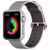 Low Price Colorful Woven Nylon Watch Band Wrist Strap For Apple Watch 42Mm Pearl