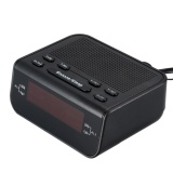 Price Compact Digital Fm Alarm Clock Radio With Dual Alarm Snooze Functions Intl Oem China