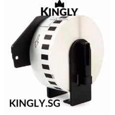 Compatible Brother Dk 22210 Continuous Length Paper Tape Black On White On Singapore