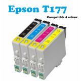 Price Comparisons For Compatible Epson T177 E1771 177 1773 1774 Printer Ink Suitable For Epson Xp422 Xp225 Xp30 Xp102