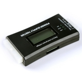 For Sale Computer Pc Power Supply Tester Checker 20 24 Pin 4 Sata Hdd Atx Btx Meter Black