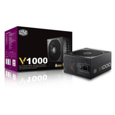 Sale Coolermaster V1000 80 Gold Fully Modular Power Supply Unit Coolermaster On Singapore