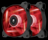 Sale Corsair Air Series Af120 Led Quiet Edition High Airflow Fan Twin Pack Red Corsair