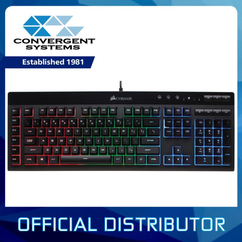 [Delivery from 3rd April] CORSAIR Gaming K55 RGB Gaming Keyboard Singapore