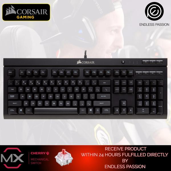 Corsair Gaming K66 Mechanical Keyboard, Cherry MX Red Singapore