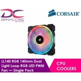 Buy Corsair Ll Series Ll140 Rgb 140Mm Dual Light Loop Rgb Led Pwm Fan — Single Pack Singapore