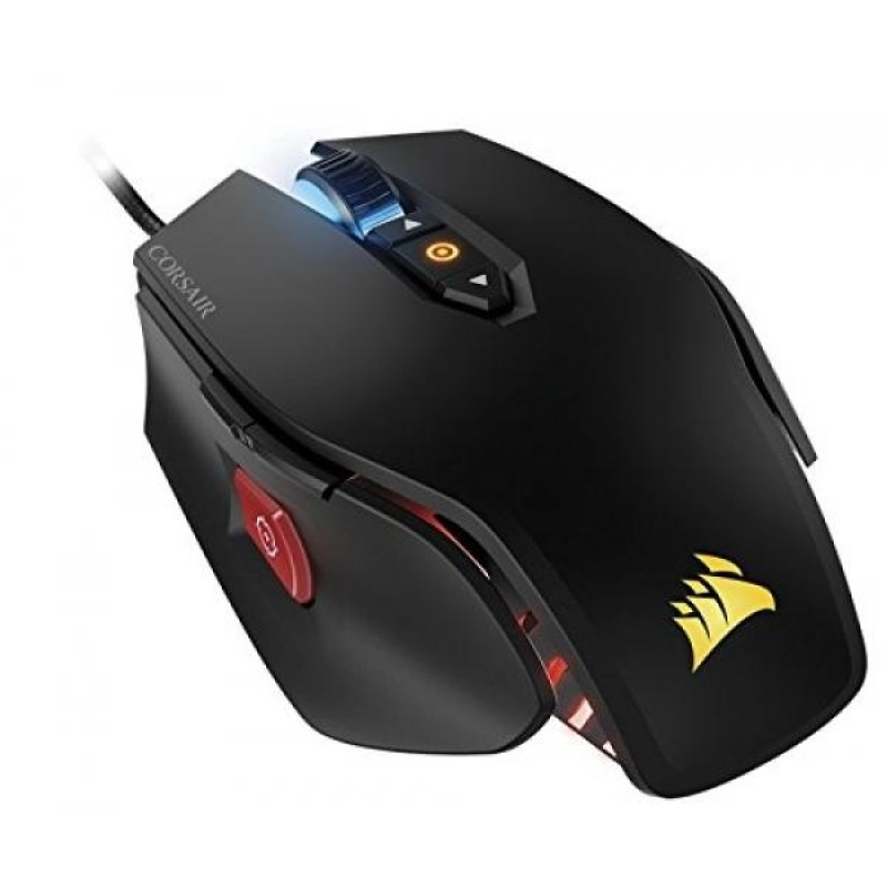 CORSAIR M65 Pro RGB - FPS Gaming Mouse - 12,000 DPI Optical Sensor - Adjustable DPI Sniper Button - Tunable Weights - Black - intl Singapore