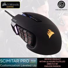 Corsair Gaming SCIMITAR Pro RGB MOBA/MMO Gaming Mouse Singapore