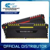 For Sale Corsair Vengeance Rgb 16Gb 2 X 8Gb Ddr4 2666Mhz C16 Dimm Desktop Memory Kit Black