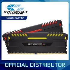 Corsair Vengeance Rgb 16Gb 2 X 8Gb Ddr4 3000Mhz C15 Dimm Desktop Memory Kit Black In Stock