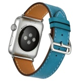 Price Cowhide Leather Watchband Single Loop Strap For Iwatch Apple Watch 38Mm Series 3 2 1 Online China