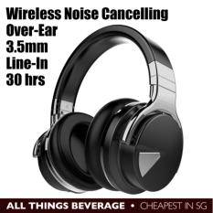 Cowin E 7 Active Noise Cancelling Wireless Bluetooth Over Ear Stereo Headphones Hands Free With Mic Black Cheapest In Sg For Sale Online