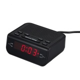 Promo Cr 246 10Fm Station Dual Alarm Digital Clock Radio 6 Led Dispay Am Fm Radio Intl