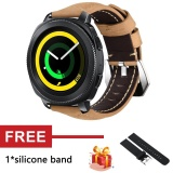 Review Crazy Horse Soft Genuine Leather Strap Band For Gear Sport Sm R600 Watch Intl On China