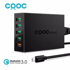 Crdc Pa-T15 5-Port Wall Charger With Quick Charge 3.0 (uk) By Akihabara Mobile Singapore.