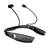 Creative H1 Stereo Wireless Bluetooth 4 Neckband Style Earbuds Sport Headphones Black Intl Cheap