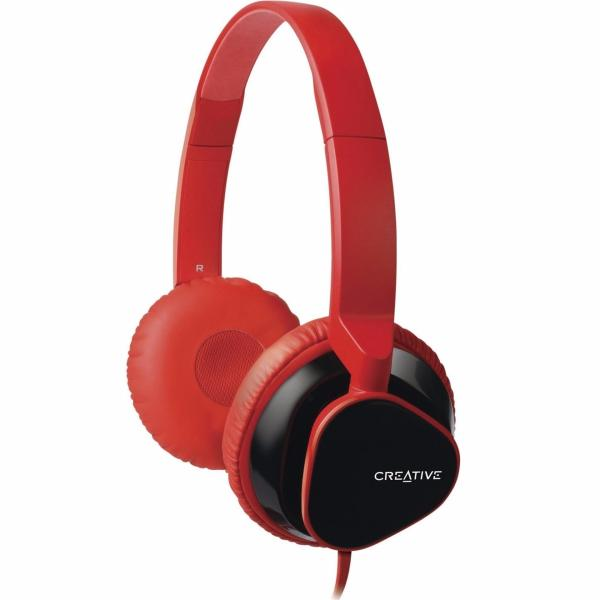 Creative MA2300 On Ear Headphone with 30mm Drivers, Flat Folding Ear Cups, In-Line Remote and Mic Singapore