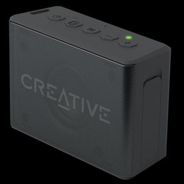 Creative MUVO 2C Palm Sized Water Resistant Bluetooth Speaker with Built-In MP3 Player (Black) Singapore