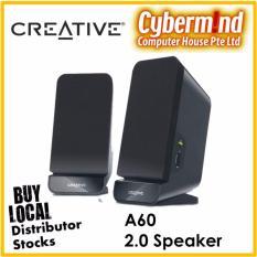 Creative Sbs A60 2 Desktop Speakers Shop