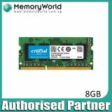 Crucial 8Gb Ddr3L 1600 Sodimm 1 35V Cl11 Pc3 12800 204 Pin Crucial Cheap On Singapore