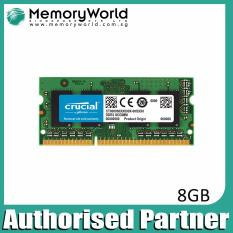 Buy Crucial 8Gb Ddr3L 1600 Sodimm 1 35V Cl11 Pc3 12800 204 Pin Cheap On Singapore