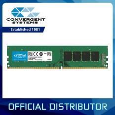 Crucial 8gb Ddr4 2400mhz Cl17 1.2v Non-Ecc Dimm Desktop Memory Ct8g4dfs824a By Convergent Systems.