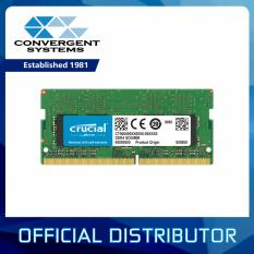 Crucial 8gb Ddr4 2400mhz Cl17 1.2v Non-Ecc Sodimm, So-Dimm Notebook Memory Ct8g4sfs824a By Convergent Systems.