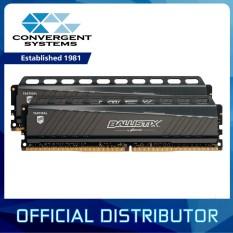 Top Rated Crucial Ballistix Tactical 16Gb 2X8Gb Ddr4 2666Mhz C16 1 2V Non Ecc Dimm Desktop Memory Blt2K8G4D26Afta