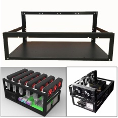 Price Crypto Coin Open Air Mining Miner Frame Rig Case Up To 6 Gpu Eth Btc Ethereum Intl Not Specified Original
