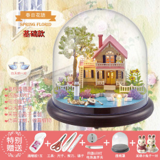 Discount Villa Model With Transparent Cover Cute Room