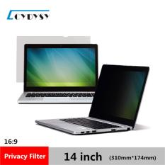 Cydysy 14 Inch Privacy Filter Anti Spy Screens Protective Film For 16 9 Laptop 12 3 16 Wide X 6 7 8 High 310Mm 174Mm Intl On Line