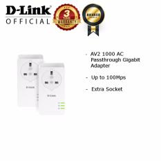 List Price D Link Dhp P601Av Av2 1200 Gigabit Powerline Kit Set D Link