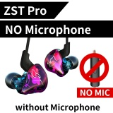 Buy Cheap D38Bkz Zst Pro Armature Dual Driver Earphone Detachable Cable In Ear Audio Monitors Noise Isolating Hifi Music Sports Earbuds Intl