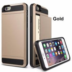 Price Damda Slide Card Case Casing Cover For Iphone 6 6S Gold On Singapore